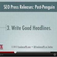 SEO Press Releases and YouTube: A Match Made in Google Heaven