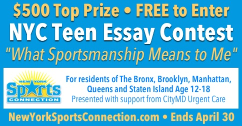 New York City Teen Essay Contest - New York Sports Connection