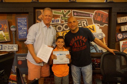 Press Release: Bayside, Queens NY boy overcomes deadly congenital brain disorder to place in New York Sports Connection sportsmanship essay contest